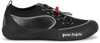 Palm Angels Model black suede sneakers