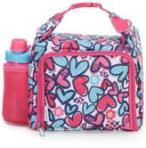 Fit & Fresh Willow Butterfly Hearts Insulated Lunch Kit