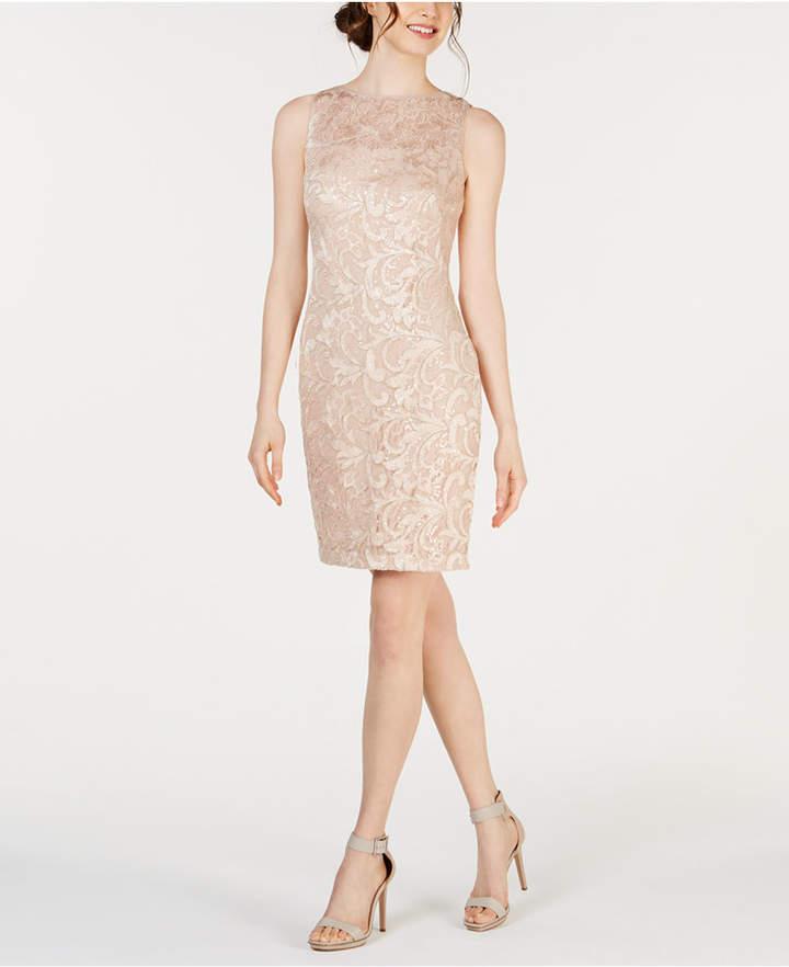 06dc9862fd18 Calvin Klein Sequin Dresses - ShopStyle