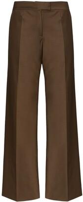 MATÉRIEL High-Waisted Wide-Leg Trousers