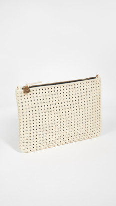 Clare Vivier Flat Clutch with Tabs