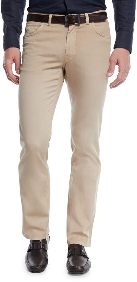 Brioni Men's 5-Pocket Twill Pants
