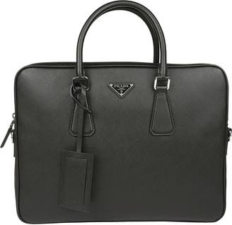 Prada Classic Leather Briefcase