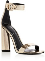 Gold Ankle Strap Heels - ShopStyle