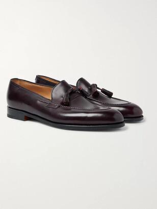 John Lobb Callington Museum Leather Tasselled Loafers
