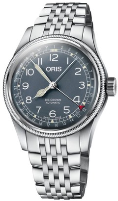 Oris Stainless Steel Big Crown Pointer Date Watch 40mm