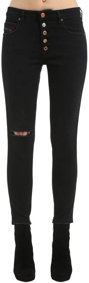 Diesel Skinny Cotton Denim Jeans