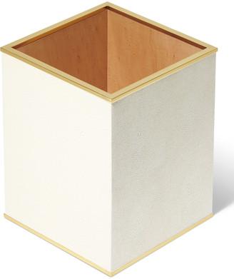 AERIN Classic Shagreen Wastebasket