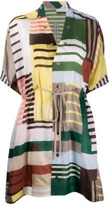 Rick Owens Tecuatl sail mini dress