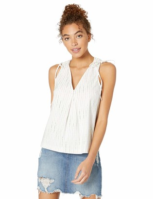 BCBGeneration Women's Pleated Front Blouse