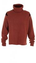 Tibi Cozy Boiled Funnel Neck Sweater