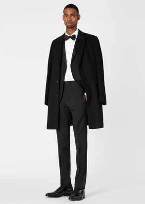 Paul Smith Men's Slim-Fit Black Wool-Mohair Evening Suit