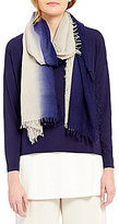 Eileen Fisher Ombre Silk & Cashmere Scarf
