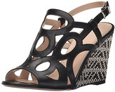 Aquatalia by Marvin K Aquatalia Women's Sana Anil Calf Wedge Sandal