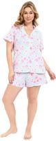Carole Hochman Plus Size Boxer Pajama