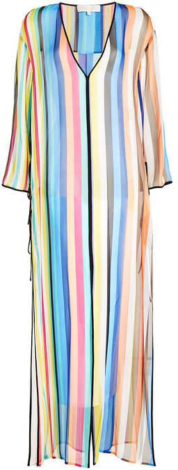 Diane von Furstenberg Striped Silk Tunic