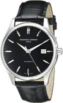 Frederique Constant Men's FC-303B5B6 Classic Stainless Steel Watch with Band