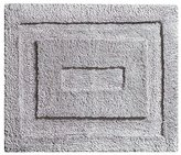 InterDesign Microfiber Spa Bathroom Accent Rug, 21 x 17, Gray