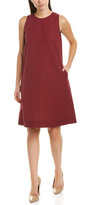 Lafayette 148 New York Hana Linen-Blend Shift Dress