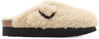 Birkenstock Papillo Boston Teddy Shearling Sandals