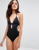 Calvin Klein Halter Swimsuit