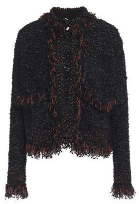 M Missoni Frayed Metallic Boucle-knit Jacket