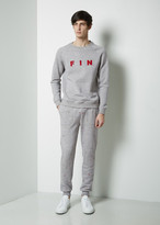 Band Of Outsiders Embroidered Foulard Sweatpant