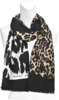 Marc Jacobs 120x160 Dotted Leopard Stole
