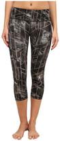 Zobha Loui Printed Straight Leg Capri Pants