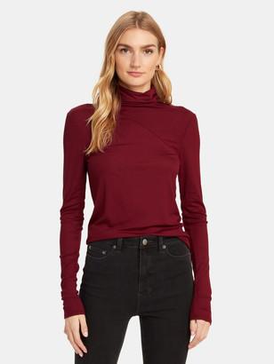 AG Jeans Chels Rib Knit Turtleneck Sweater
