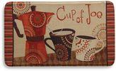 Bacova Cup of Joe 20-Inch x 34-Inch Memory Foam Floor Mat