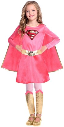 Superman Pink Supergirl Costume