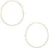 Wanderlust + Co Full Circle Hoop Earring
