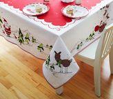 Pottery Barn Kids Christmas Tablecloth