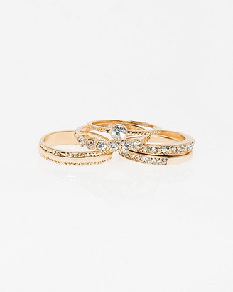 Le Château Set of Five Stackable Rings