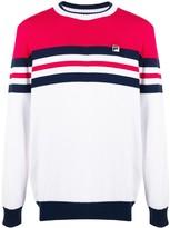 Fila branded striped jumper