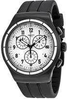 Swatch Men's Irony YOB403 Black Rubber Swiss Quartz Watch