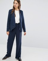 Selected Wide Leg Pant with High Waist