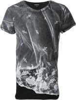 Ann Demeulemeester ink printed T-shirt