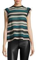 M Missoni Multi-Lace Top