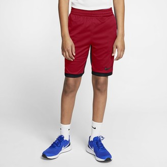 Nike Big Kids' (Boys') Training Shorts Dri-FIT Trophy