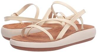 Ancient Greek Sandals Dimitra Comfort (Off-White) Women's Shoes