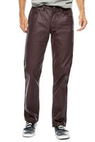 Akademiks Robertson Slim-Fit Coated Denim Jeans