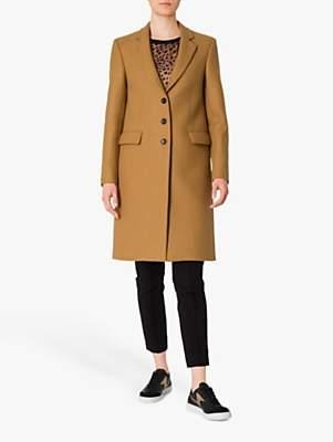 Paul Smith Epsom Wool Blend Coat