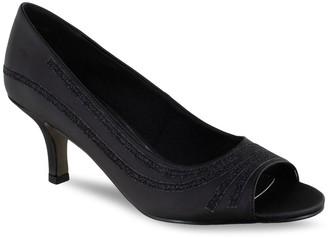 Easy Street Shoes Lady Women's Peep Toe Pumps