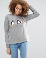 Asos x PINGU Sweatshirt with Click Print by Phiney Pet