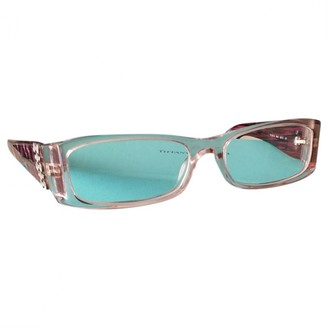Tiffany & Co. Purple Plastic Sunglasses