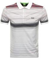 BOSS GREEN Paddy 3 Polo T Shirt White