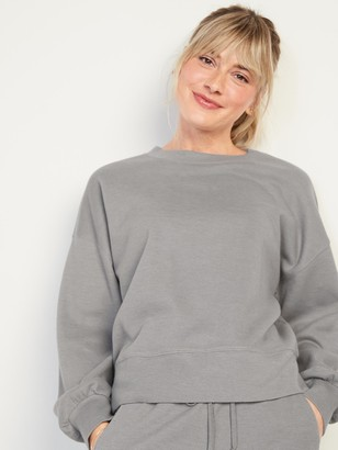 Old Navy French-Rib Lounge Sweatshirt for Women