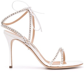 Sergio Rossi Strappy Crystal Sandals